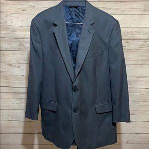 Men's Croft & Barrow blue blazer size 46 regular